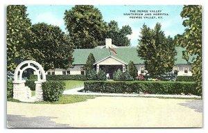 Pewee Valley Sanitarium and Hospital, Pewee Valley, KY Postcard *7C11