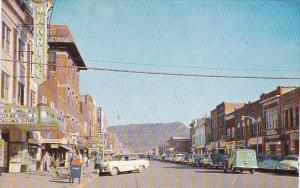 Kentucky Middlesboro Main Street Looking East