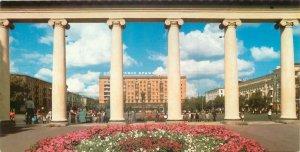 Postcard Belarus Minsk Kalinin square