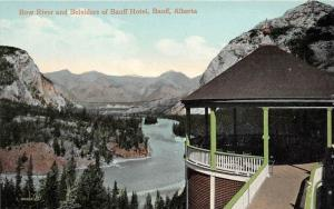 10154  Baniff National Park Baniff Hotel belvidere on Bow river