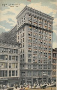 INDIANAPOLIS , Indiana , 1917 ; State Life Building