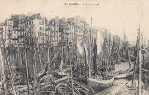 LE HAVRE, Seine Maritime, France, 1900-1910's; Le Grand Quai