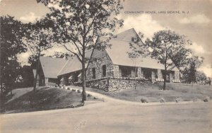 Community House in Lake Erskine, New Jersey
