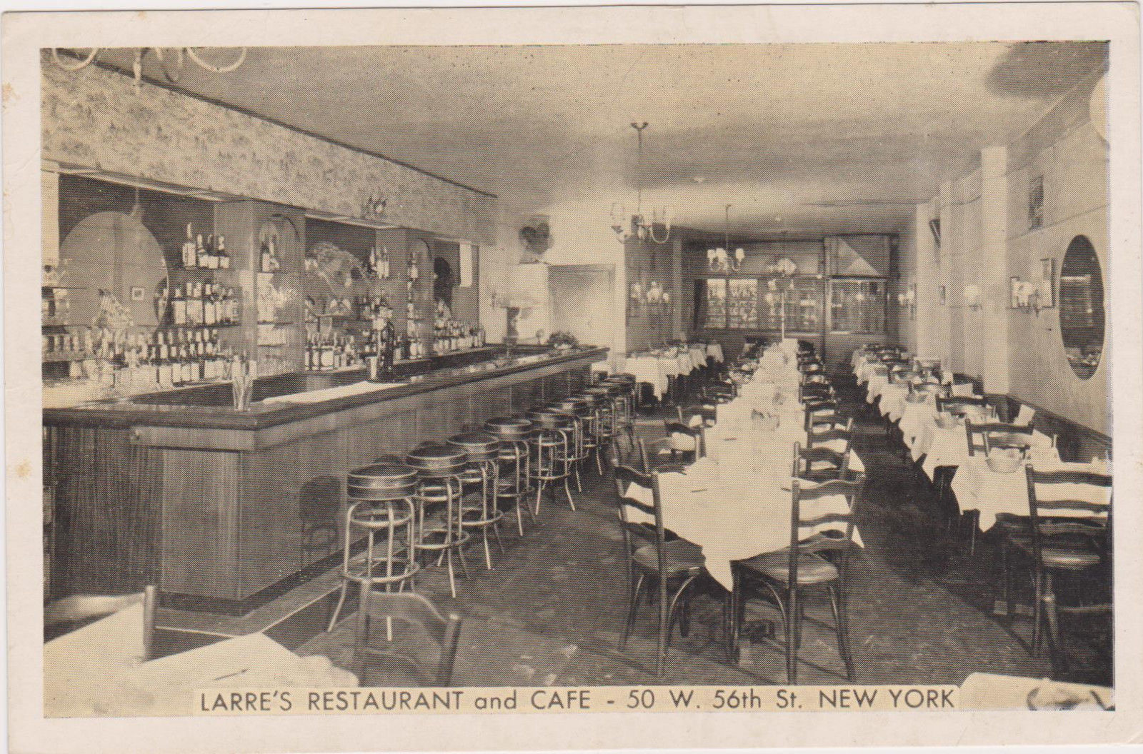 Excellent Larres Restaurant Cafe New York City 1930S 50 West Download Free Architecture Designs Scobabritishbridgeorg