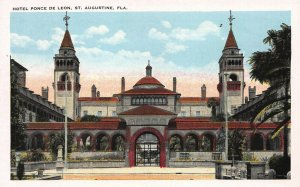 Hotel Ponce De Leon, St. Augustine, Florida, Early Postcard, Unused