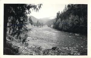 RPPC of Cooks Rapids McKenzie River Oregon OR along the McKenzie Highway