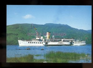 FE2911 - Scottish Ferry - Maid of the Loch , built 1953 - postcard