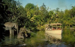 Disneyland, Anaheim Cal., Adventureland, Jungle Cruise, Elephant Bathing Pool