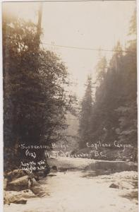 RP, Suspension Bridge, Capilano Canyon, North Vancouver, BC , Canada , 00-10s