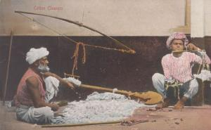 Indian Cotton Cleaners Antique Postcard