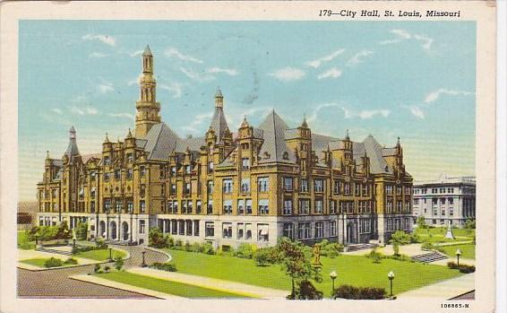 City Hall Saint Louis Missouri 1949