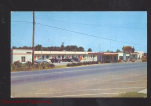 MARYVILLE TENNESSEE TRAVELERS MOTEL VINTAGE ADVERTISING POSTCARDE OLD CARS