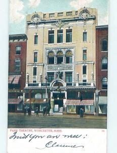 Pre-1907 POSTCARD SCENE Worcester Massachusetts MA hp9403