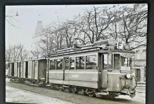 Ungebraucht Vintage Schweiz 1957 Milch Zug Zürich Station Echt Foto Postkarte