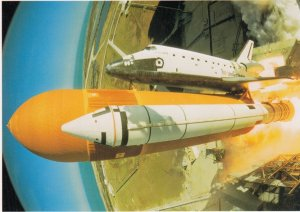 SPACE: 1985 ; Shuttle Flight 51-C , DISCOVERY
