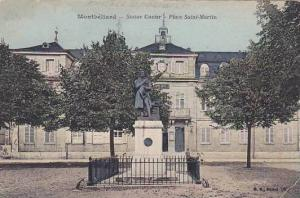 Statue Cuvier, Place Saint-Martin, Montbeliard, Doubs, France, 00-10s