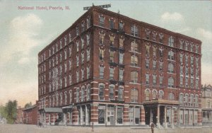 Illinois Peoria The National Hotel sk5559