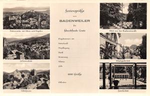 Badenweiler multiviews Schlossruine Familienbad Markgrafenbad Castle Ruins