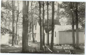 RPPC Bryon Camp Grounds, Brownsville, Wisconsin, WI, AZO
