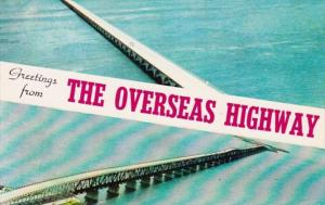 Florida Greetings From The Overseas Highway In The Florida Keys