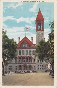 City Hall, Albany, New York, PU-1925
