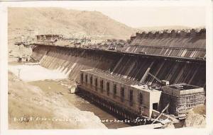 RP; Coulee Dam - Powerhouse, foreground, Washington, PU-1940