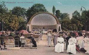 WEisbaden, Konzert Im Kurgarten, Hesse, Germany,00-10s
