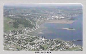 Aerial View, Ville de la Baie, Saguenay-Lac-Saint-Jean, Quebec, Canada, PU-1987