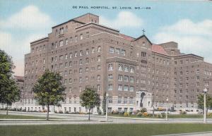 De Paul Hospital St Louis MO Missouri USA Postcard