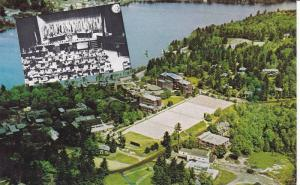 Airview showing the Lake Placid Club,  Lake Placid,  New York,  PU_1973
