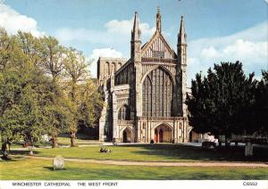 BT2849 Winchester Catehdral the west front     England