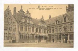 Hotel De Ville Et Palais De Justice, Stadhuis en Gerechtshof, Veurne (West Fl...