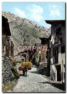 Postcard Modern Valls D & # 39Andorra Canillo Vista parcial Anforre