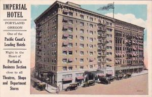 Imperial Hotel Portland Oregon