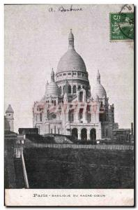 Paris - 18 - Sacred Heart - Montmartre - Old Postcard