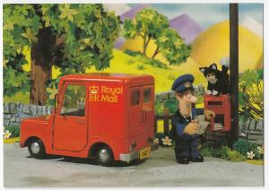 Postman Pat Collects The Post With His Cat, Jess - Postcard, Unposted