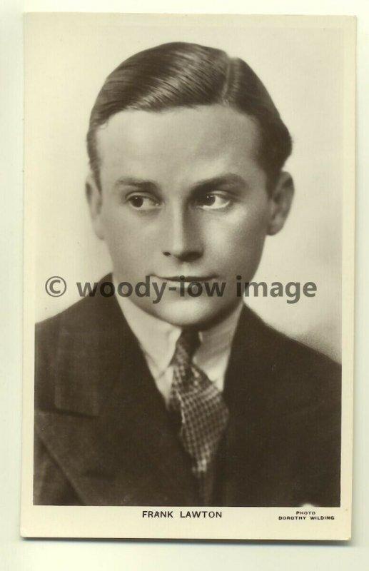 b0011 - Film Actor - Frank Lawton - Picturegoer Postcard 494