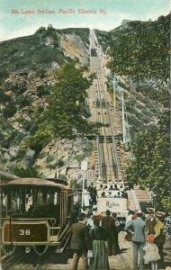 California Pasadena Mount Lowe Railway Rieder #3580 C-1910 Postcard 21-2080