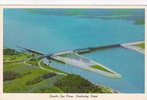 Kentucky Ducks Eye View Kentucky Dam Showing Kentucky Lake