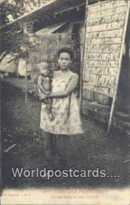 Cambodge, Phnom, Penh Cambodia, Cambodge Jeune Mere et son Ealant Cambodge, P...