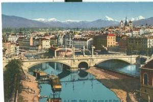 Switzerland, Geneve, Geneva Due Prise de St. Jean, early ...