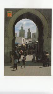 BF26955 fes puerta de boujeloud morocco   front/back image
