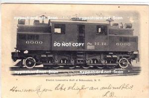 Electric Locomotive Built in Schenectady NY