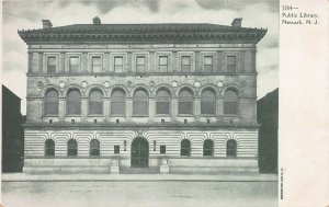 Public Library, Newark, N.J., Very Early Postcard, Unused