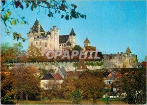 Modern Postcard Chateau de Montfort (Dordogne) Colors and Light of France