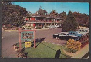 Park Crest Motel Monterey, California - 1950s - Writing But Not Posted Some Wear