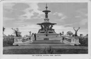 Ashford The Fountain Victoria Park Fountain Postcard