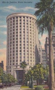 RIO DE JANEIRO, Brazil, 1930-1940's; Hotel Serrador