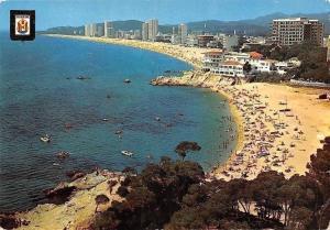 Spain Playa de Aro Costa Brava Air view Beach, Plage Panorama