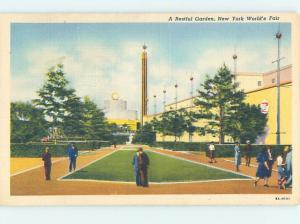 Unused 1939 WORLD FAIR New York City NY HM8979
